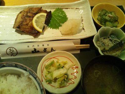 20130816 鯖いしる焼定食.JPG