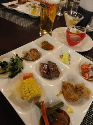20140210 14夕食@層雲峡温泉1.JPG