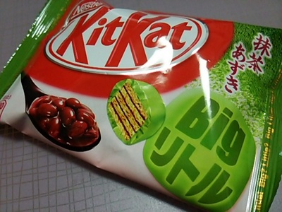 20150419 KitKat抹茶あずき.JPG