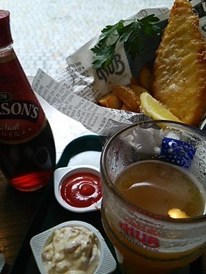 20150627 Fish&Chips@HUB.JPG