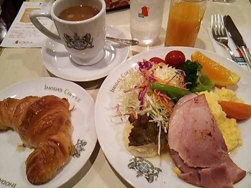 20150704 京都3イノダコーヒー朝食.JPG