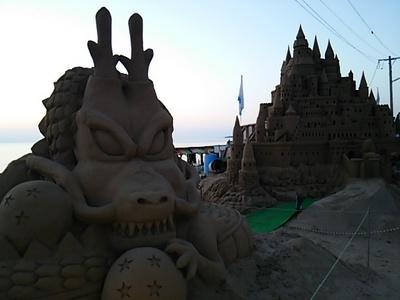 20150815 千里浜砂像4.JPG