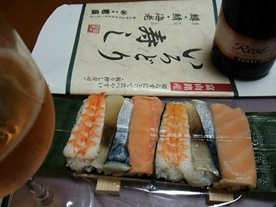 20150817 いろどり寿し(鱒・鯖・海老).JPG