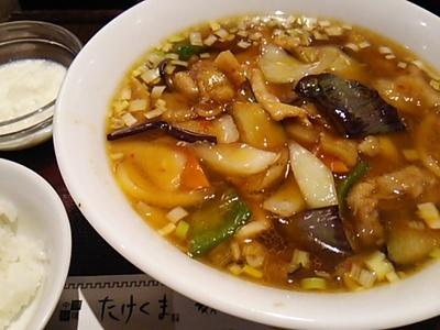 20150914 豚肉とナス炒めラーメン.JPG
