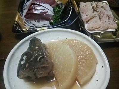 20160213 鰤大根&刺身.JPG