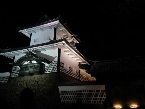 20170319 ライトアップ石川門.JPG