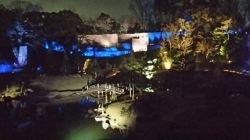 20170319 ライトアップ金沢城公園玉泉院丸庭園2.JPG