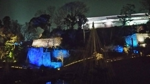 20170319 ライトアップ金沢城公園玉泉院丸庭園3.JPG