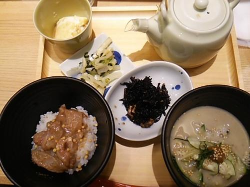 20170709 えん鯛茶漬け&宮崎冷や汁.JPG
