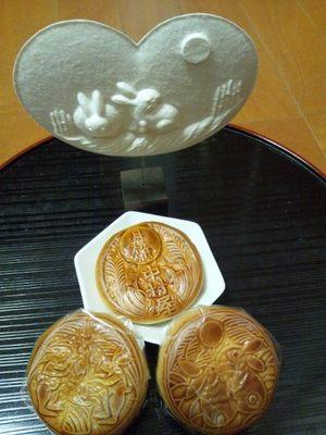 20130919 月餅仲秋の名月.JPG