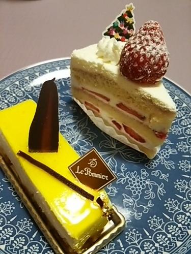 20151225 LePommierケーキ.JPG