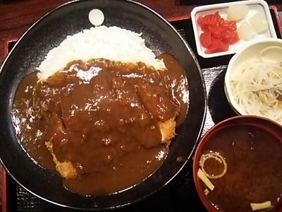 20160330 カツカレー定食.JPG