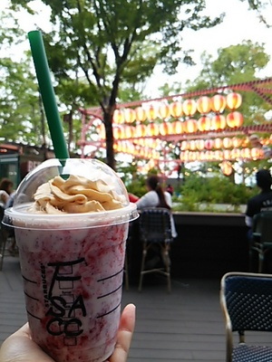 20160619 baked cheesecake frappuccino.JPG