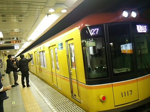 20161120 銀座線溜池山王止まり.JPG