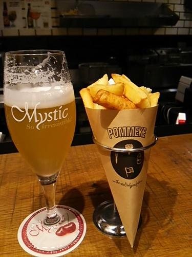 20170524 ベルギービール&フリット.JPG