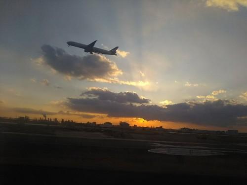 20180204 6羽田空港の夕陽.jpg